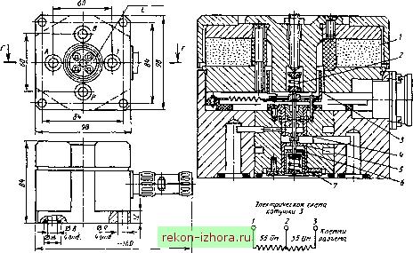 Устройство и принцип действия распределителя АГ 28-51-200